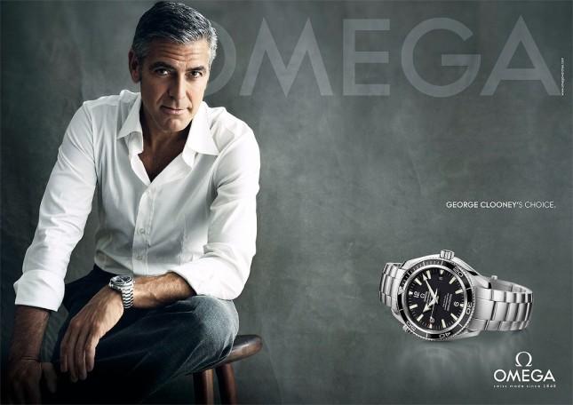 George Clooney anuncio Omega